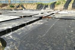 石阡县万金庄棚改项目地下室底板卷材防水