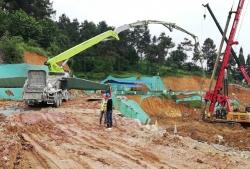 碧桂园西南上城一期澜山府项目二标段桩基础工程